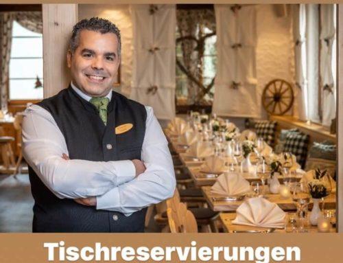 Wiedereröffnung Restaurant